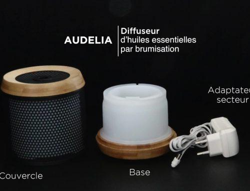 Mode d'emploi Audelia, diffuseur par ultrasons
