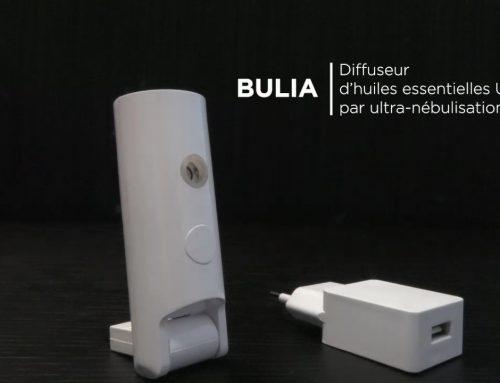 Mode d'emploi Bulia, diffuseur par ultra-nébulisation