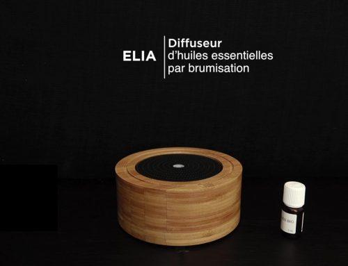 Mode d'emploi Elia, diffuseur d'huiles essentielles par ultrasons